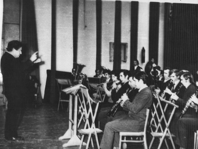 Духовий оркестр під керівництвом Б.Я.Осипенка