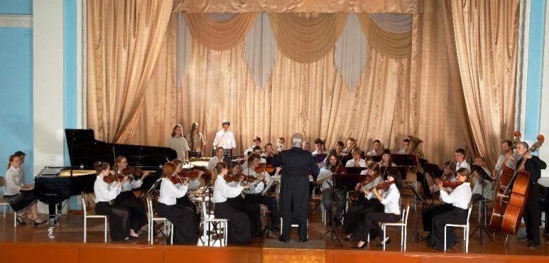 Симфонічний оркестр. Художній керівник Сірий Д.А.