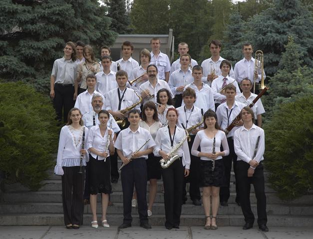 Духовий оркестр під керівництвом Д.Я.Кратасюка